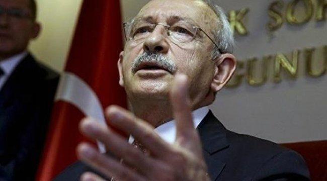 Kılıçdaroğlu'ndan ABD'nin yaptırım kararıyla ilgili flaş açıklama