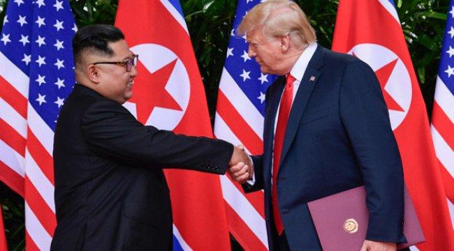 Trump'tan Kuzey Kore lideri Kim'e özel teşekkür