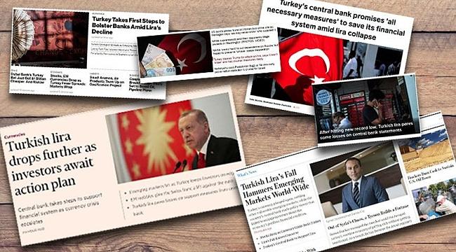 Türkiye ekonomisi dünya manşetlerinde