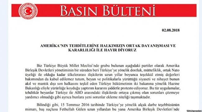Türkiye'nin ABD'ye Yaptırım Tepkisi Sertleşti
