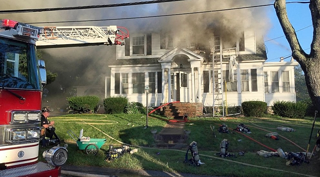 1 killed, 12 injured in fires, explosions after suspected gas leak in Massachusetts