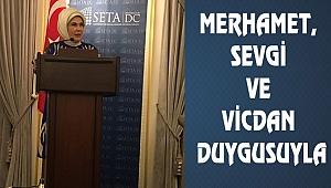 ABD'de Emine Erdoğan'dan Yardım Vurgusu
