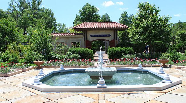 ABD'deki Osmanlı Bahçesine Yoğun İlgi
