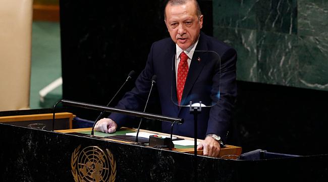 Erdoğan BM'den Dünyaya Seslendi