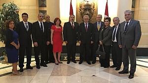 FTAA Üyeleri Büyükelçi Kılıç'ı Ziyaret Etti