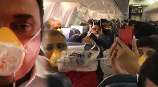 Jet Airways uçağında alarm