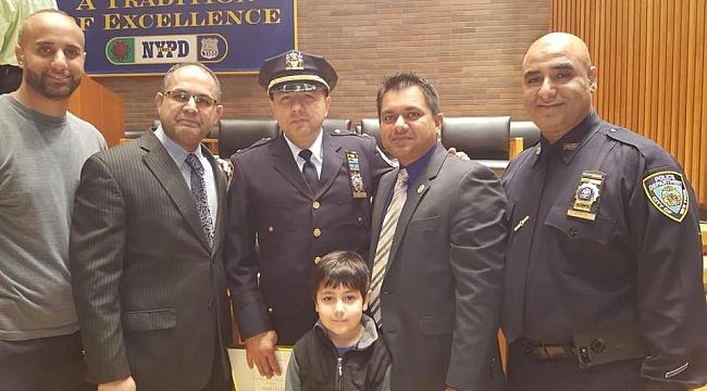 New York'un İlk Türk Polis Müdürü