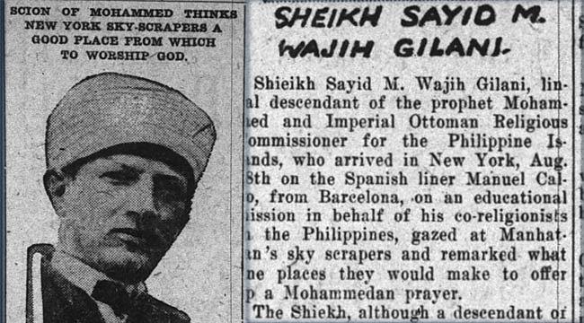 Osmanlı Elçisinin Hayali New York'ta Ezan