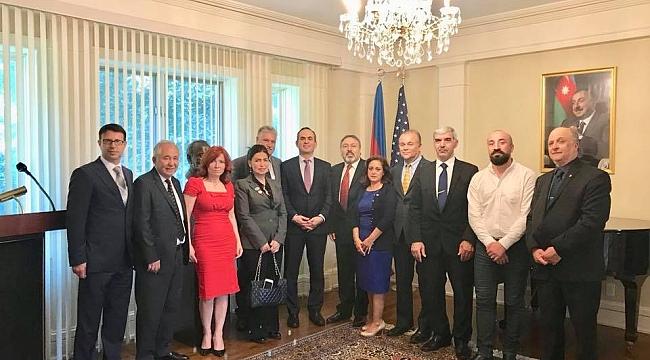 TADF Üyelerinden Azerbaycan Elçiliğine Ziyaret