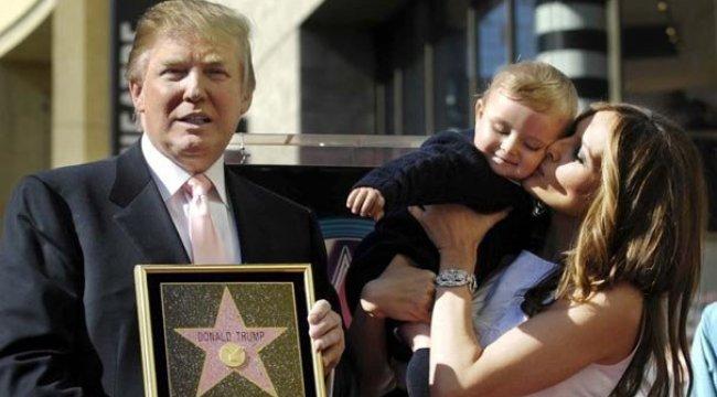 Trump'ın yıldızına demir parmaklık