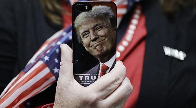 Trump Şimdi de SMS ile Ulaşacak