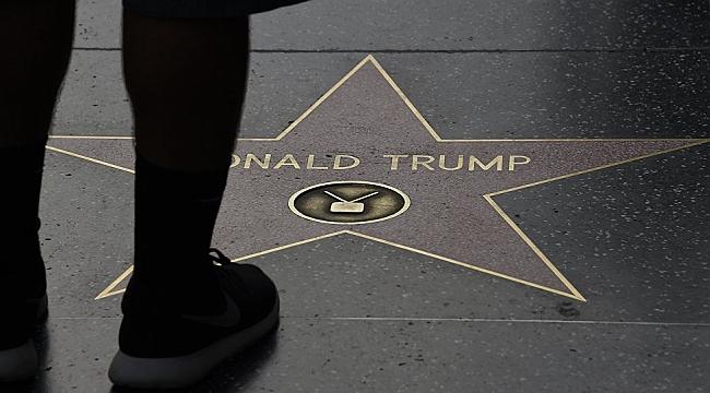 Trump Yıldızına Demir Parmaklık