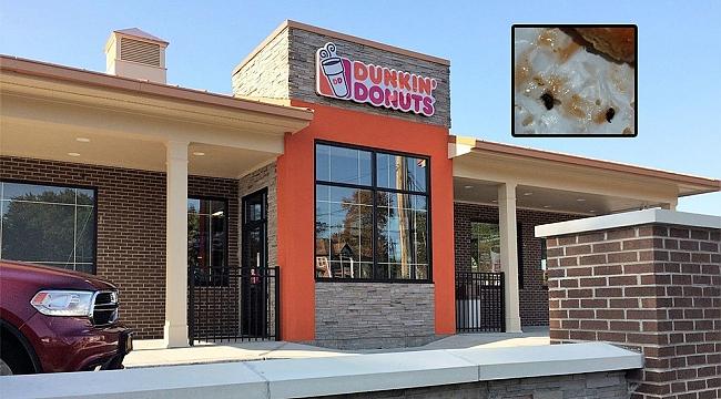 Dunkin' Donuts Tatlısında Böcekler Çıktı