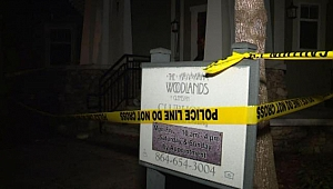 Ev Partisinde Zemin Çöktü: 30 Yaralı