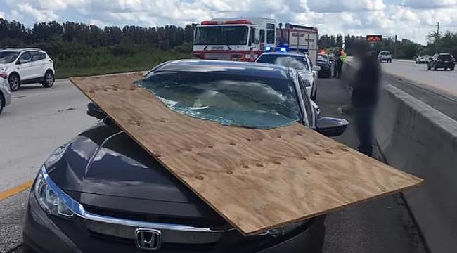 Florida I95 Karayolunda Görünmez Kaza