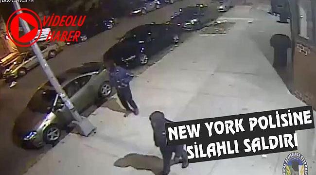 New York Polisine Silahlı Saldırı