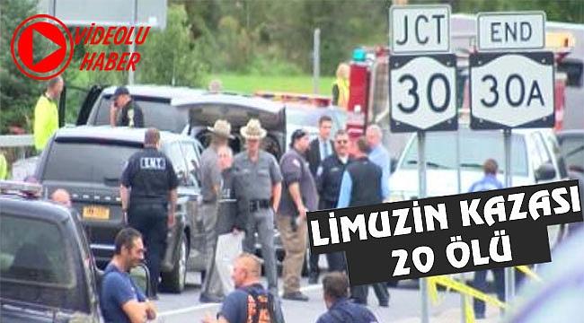 New York'ta Limuzin Kazası: 20 Ölü