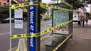 New York'taki otobüs duraklarının çoğu kapatıldı