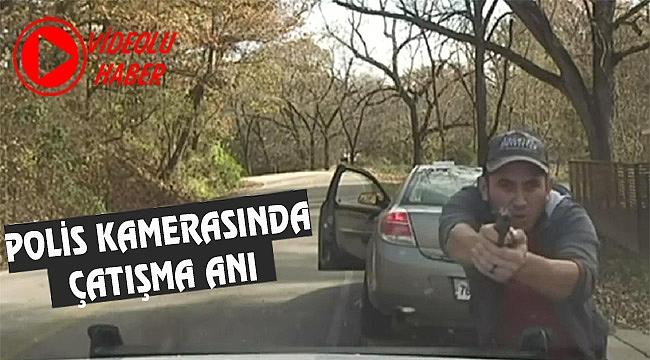 Arkansas'ta Polisle Çatışma Kameraya Yansıdı
