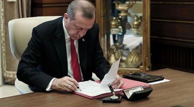 Cumhurbaşkanı Erdoğan imzasıyla resmen yayımlandı