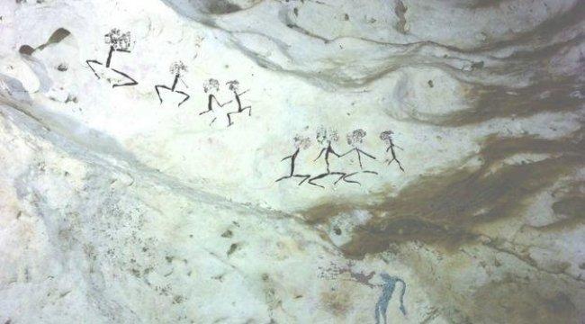 En eski hayvan resmi bulundu