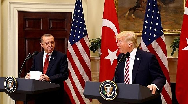Erdoğan, Trump ile Telefonla Görüştü