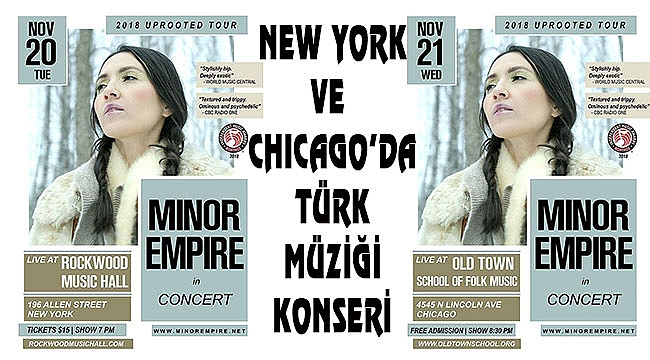Kanadalı Türk Minor Empire New York'ta