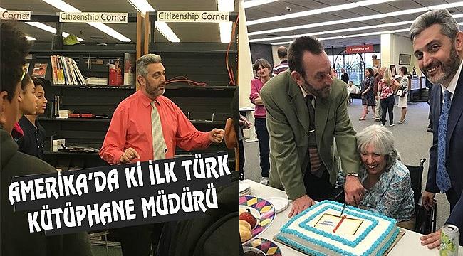 Kütüphaneci Kemal'in ABD'de Türkçe Kitap Aşkı