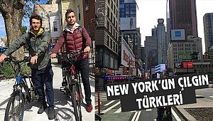 New York'ta Bisikletle Delivery Yapan Türkler