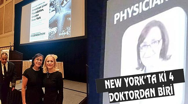 Türk Doktor Ayşe Aytaman'a Yılın Ödülü