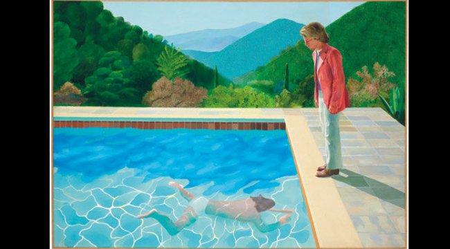 Hockney tablosu 90 milyon dolara satıldı