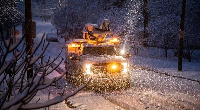 Amerika'nın Güneyinde Kar Fırtınası