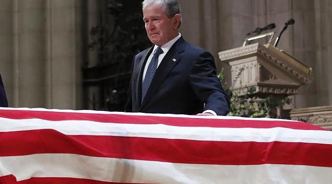 Baba George Bush'a Cenaze Töreni