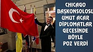 Chicago'nun En Prestijli Galasında Türk Bayrağı