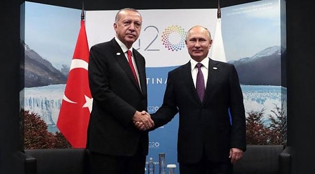 Erdoğan, Putin'i İdlib için uyardı