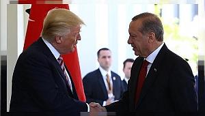 Erdoğan Trump ile Suriye Operasyonunu Görüştü
