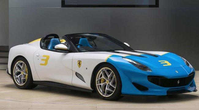 Ferrari'den 780 HP'lik roadster modeli