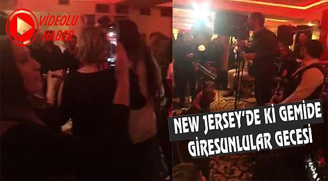 New Jersey'de Giresunlular Gecesi