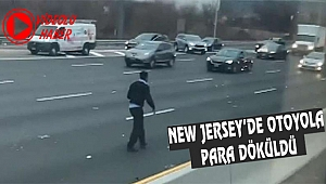 New Jersey Highway'de Para Kaosu