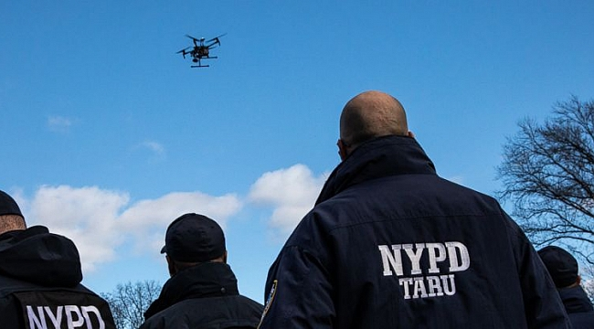 The NYPD, the nation's largest police department, puts its eyes in the skies with new drone program