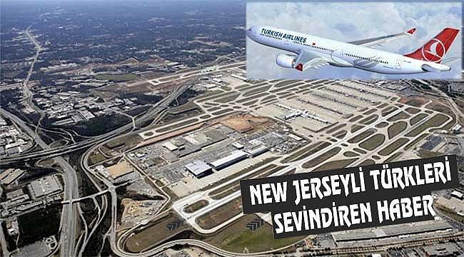 THY Newark Seferini Satışa Açtı