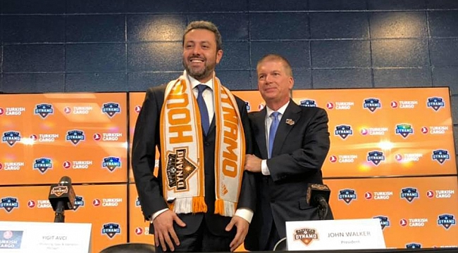 THY, Houston Dynamo'a Sponsor Oluyor
