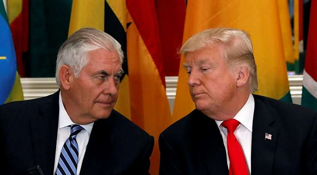 Trump Tillerson'a Aptal Dedi