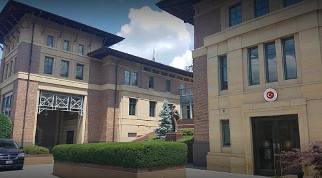 Washington Büyükelçiliğinde Operasyon