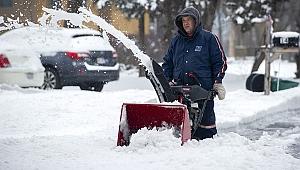 Amerika'da Kar Fırtınası