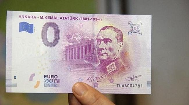 Avrupa'da Atatürk'lü Euro