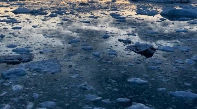 Buz Tabakalarında 6 ton metan gazı...