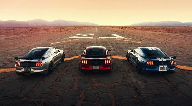 En Güçlü Mustang Detroit'te Görücüye Çıktı