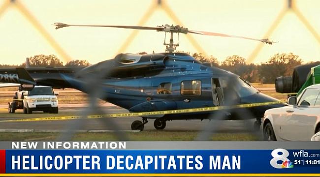 Florida'da Feci Helikopter Kazası