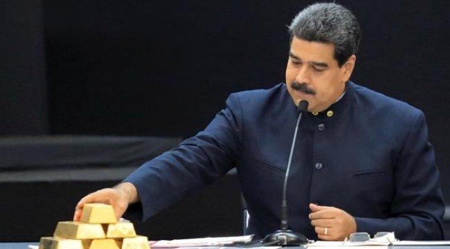 İngiltere Venezuela'nın altınlarına el koydu